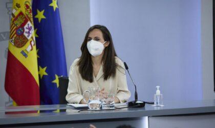 """Belarra dice que las negociaciones de la Ley de Vivienda avanzan y dice que el texto será """"satisfactorio"""""""