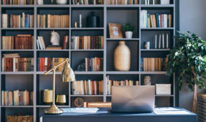 Maneras de organizar una biblioteca en casa